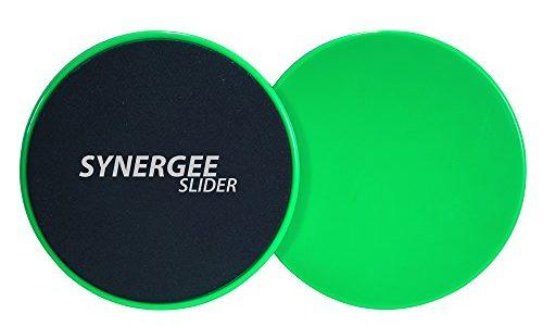 Synergee Core Sliders Dual Sided Use on Carpet or Hardwood Floors Abdominal